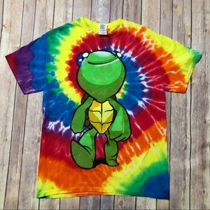 Other - Trippy Turtle Tie Dye Tour Shirt Lido Tour Merch